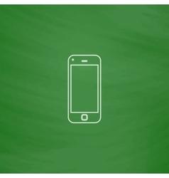 mobile computer symbol vector image vector image