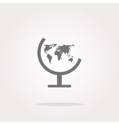 Globe Icon Globe Icon Eps10 Globe Icon vector image