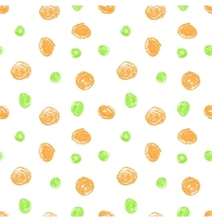 Cute seamless grunge childish pattern vector