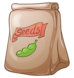 A pack of seeds vector