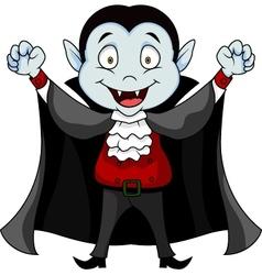 Funny Vampire cartoon vector image vector image