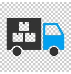 Goods transportation car eps icon vector