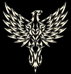 Heraldry Eagle vector image vector image