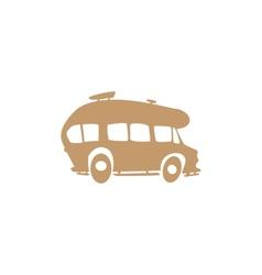 recreational vehicle vector image