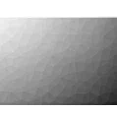 Shades of grey low poly background vector image vector image