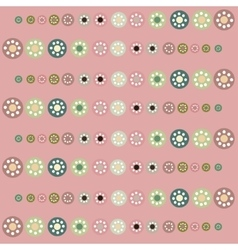 Beautiful pastel circles background vector