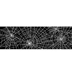 Halloween web background CCCIII vector image vector image
