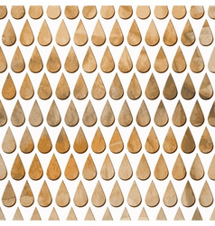 Pattern with rain drops vector
