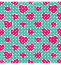 Pop art hearts vector