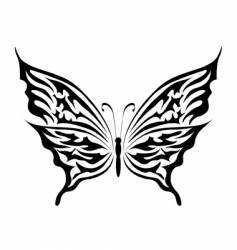 the butterfly vector image vector image