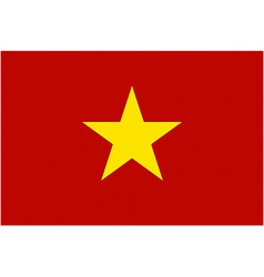 Vietnamese flag vector