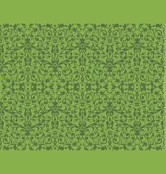 greenery eco swirl seamless pattern texture vector image