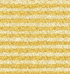 Gold glittering seamless pattern vector