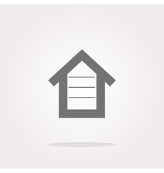 House button button signs web icon vector