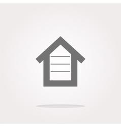 house button button signs web icon vector image vector image