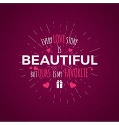 Valentine day typography photo typography vector
