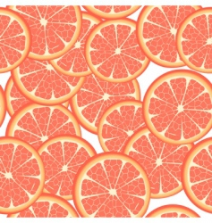 Seamless grapefruit vector