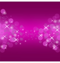 Abstract pink circle background vector