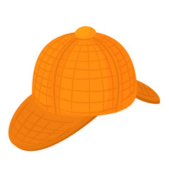 English hat icon cartoon style vector