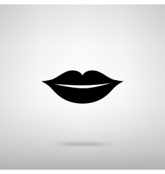 Lips sign vector