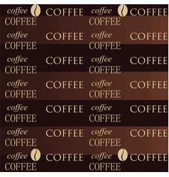 Coffee wallpaper brown vector