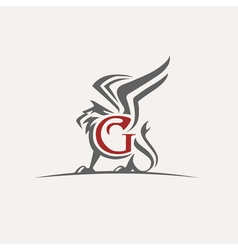 Griffin logo vector