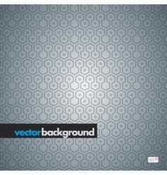 seamless hexagon pattern vector image vector image