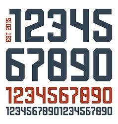 Sport numbers vector