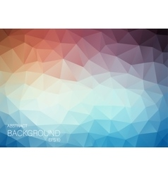 Triangle Abstract backgound for web Orange and vector image
