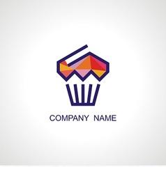 logo for cafe vector image