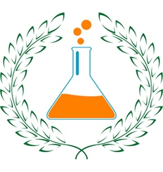 Glory of chemistry vector