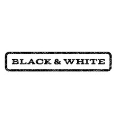Black white watermark stamp vector