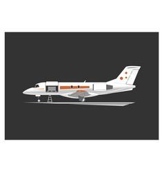 cargo aircraft vector image vector image