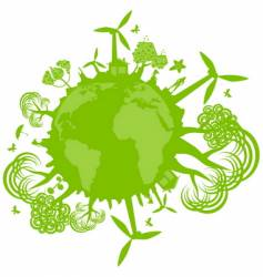 environmental concept vector image