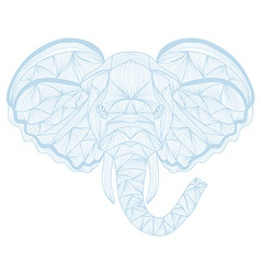 Hand drawn decorative elephant vector