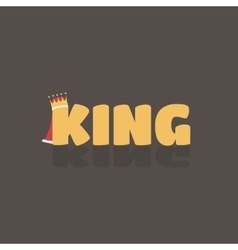 king text where K have a vector image