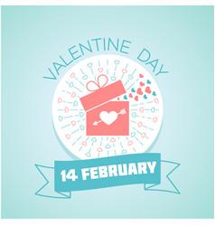 14 february valentine day vector