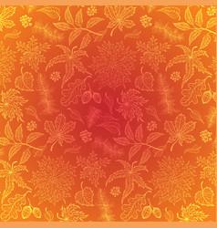 autumn leaf maple vector image vector image