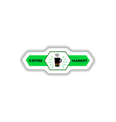 label frames and badges icon design vector image