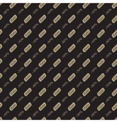 Sale Seamless Pattern Bakcground vector image