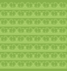 Greenery retro seamless pattern background vector