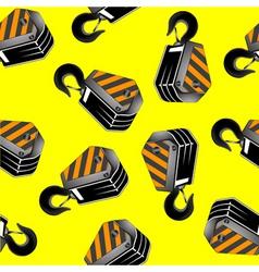 crane hooks vector image