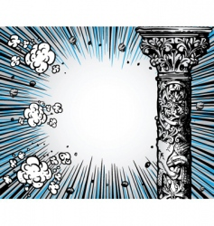comic book background vector image vector image