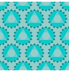 Ethnic Indian geometric seamless pattern vector image