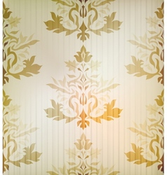 Vintage damask ornamental background vector