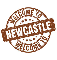 Welcome to newcastle vector