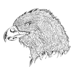 Stylised eagle vector
