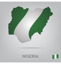 Country nigeria vector
