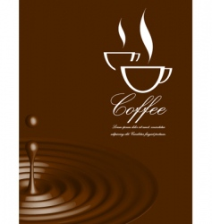 Coffee illustration vector