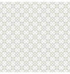 seamless guilloche ornament vector image